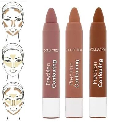Contour Crayon by Collection ~ Light Medium Dark ~ Precision Contouring chubby
