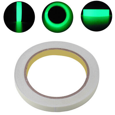 New 10M Luminous Tape Self-adhesive Glow in the Dark Safety Stage Sticker Home