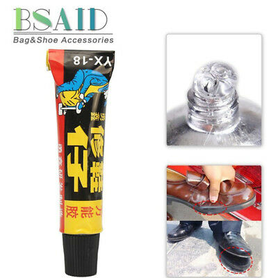 1X Super Adhesive Repair Glue For Leather Shoe Rubber Canvas Tube Strong Bond