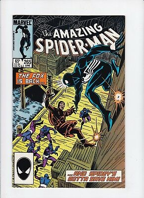 Amazing Spider-Man 265 1st App Silver Sable VF Comics Comic Books Book Lot of  1