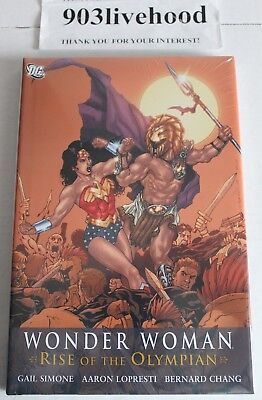 Dc Comics Wonder Woman Rise Of The Olympian Hc Hardcover By Gail Simone Oop New