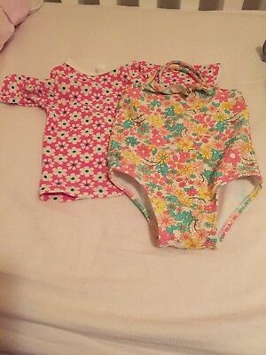 Country Road Baby Girl Bathers
