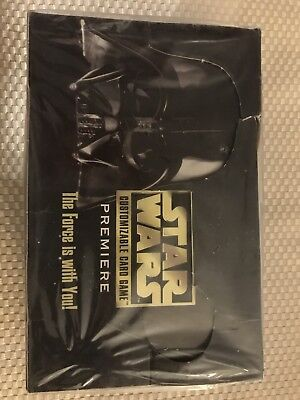 1 Sealed Box Of Star Wars CCG Limited Edition Booster Packs