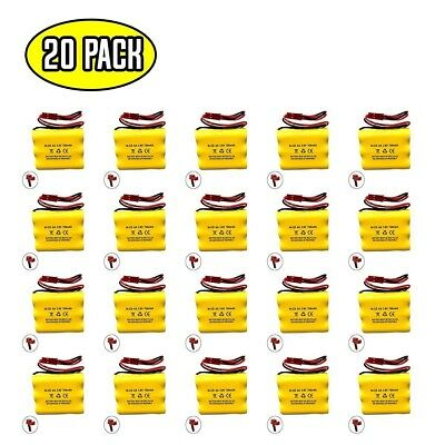 (20 pack) 3.6v 700mAh Ni-CD Battery for Emergency / Exit Light