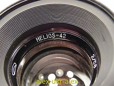 Extremely rare Helios-42 Helios 42 2/58 lens M39 mount.Mint++.№9001856
