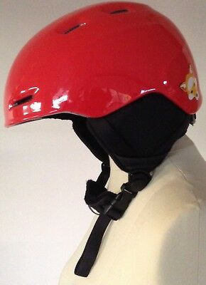 As New Red Smith Zoom JNR Ski and Snowboarding Helmet Youth Medium(53-58cm).