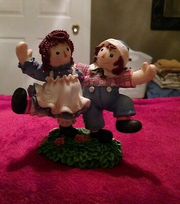 Raggedy Ann and Andy figurine