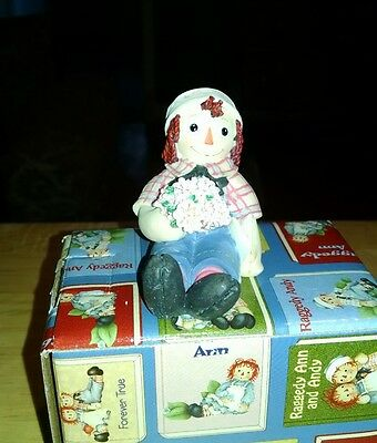 New in box Raggedy Andy limited edition figurine
