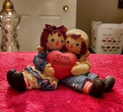 Raggedy Ann and Andy limited edition figurine