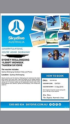 skydiving Voucher