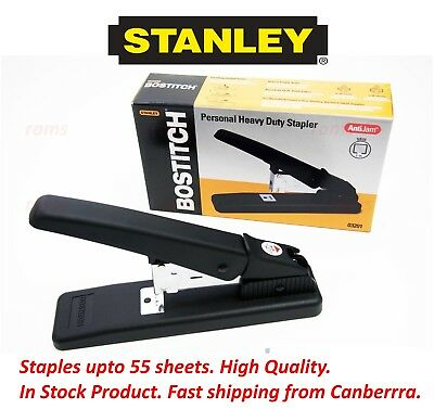 New STANLEY Bostitch Heavy Duty Stapler 55 Sheets Office Personal Business SB35