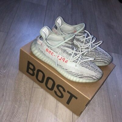 Adidas Yeezy Boost 350 v2 Blue Tint UK 9 with receipt