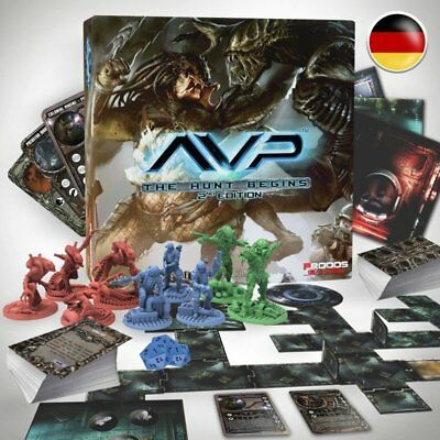 AVP Alien vs Predator: The Hunt Begins 2nd Edition Grundspiel - deutsch NEU OVP!