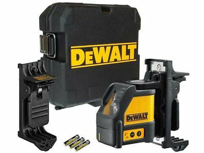 Dewalt DW088K 2 Way Self-Levelling Cross Line Laser Level Kit DW088