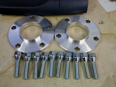BMW E71 15MM Hubcentric Wheel Spacers & M14x1.25 Bolts Rear Axle Only