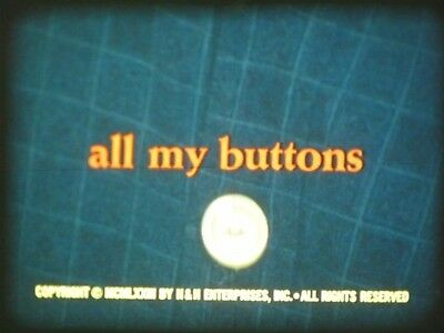 All My Buttons 1973 16mm short film Documentary Drama