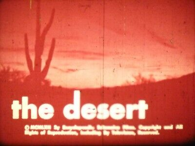 The Desert 16mm short film 1988 Nature Documentary