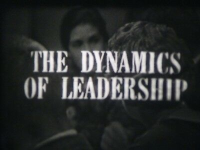 Individual Motivation & Behavior (Dynamics In Leadership) 16mm short film 1963