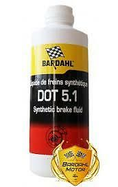 Bardahl DOT 5.1 Race Proven Brake Fluid - 500ml Brisca Race Rally