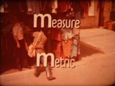 Measure Metric (A Thousand Clicks) 16mm short film 1977