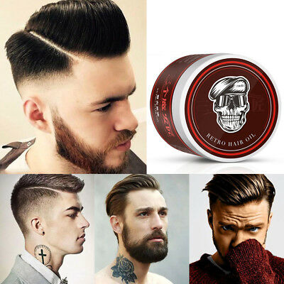 Men's Cement Clay 120ml Hair Styling Wax High Hold Barber Styling Pomade Hot QE4