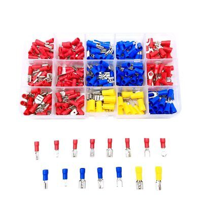 280pcs Assortment Terminals Heat Shrink Wire Connector Kit Waterproof Solder Lug