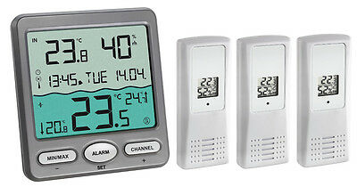 Wireless thermo-hygrometer-station VENICE Special TFA 30.3056 indoor climate