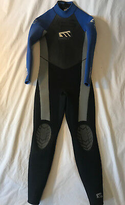 WEST Wet Suit, Boys Age 14, Blue/Black