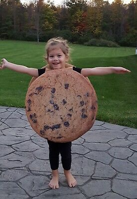Toddler Chocolate Chip COOKIE Costume 2T-4T by Seasons USA REALISTIC!! SO CUTE!!