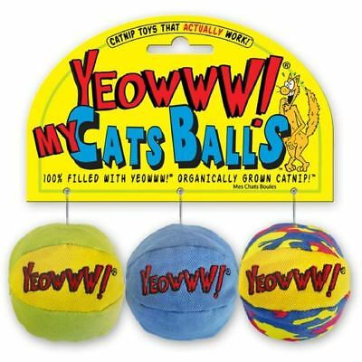 Yeowww My Cats Balls (PACK OF 4)
