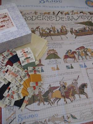 Sajou Museum & Heritage Cross Stitch Boxed Kit- The Bayeux Tapestry