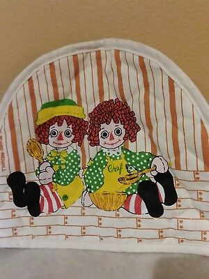 Raggedy Ann and Andy Bobbs- Merrill toaster cover- adorable!