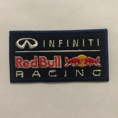 Infiniti Red Bull Racing Embroidered iron on sew on Car Logo Patch Badge N-224