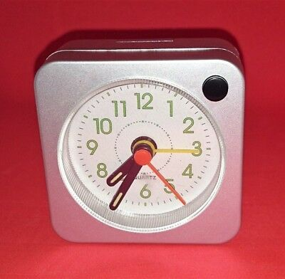 job lot of 40 constant square quartz/analogue alarm clock