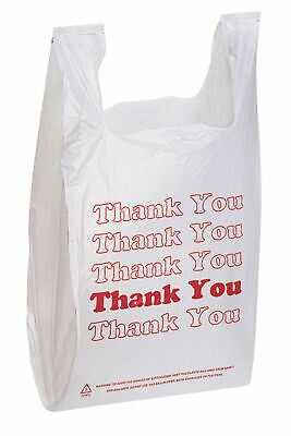 "Thank You Bags pk. of 1000 - 11 ½"" x 6"" x 21"" - Standard Supermarket Size"