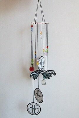 """Ford Mustang Horse Pony Logo 26"""" Wind Chime Mobile Offically Licensed Man Cave"""