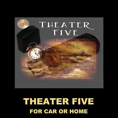 Theater Five. Enjoy 'New' Old Time Radio Shows From 1964-5 In Your Car Or Home!