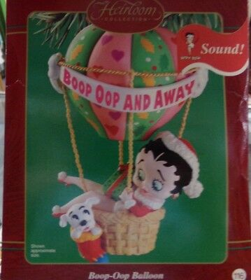 Carlton Cards Heirloom Collection Betty Boop Oop And Away Christmas Ornament