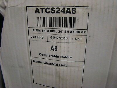 24X50 Mastic Charcoal Grey Alum Trim Coil**Free Shipping!!