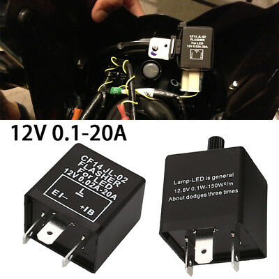 Durable GTE Fix Turn Signal Hyper Flash Auto Accessories Auto Relay Start Relay