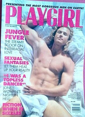 Vintage Playgirl March 1992 gay interest