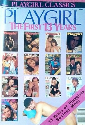 Vintage Playgirl March 1986 gay interest