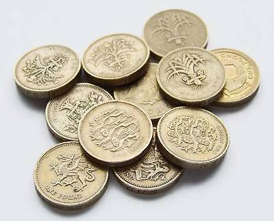 Rare UK One Pound Coin 2008-2016 Collectable Coins £1 Circulated coins LAST FEW
