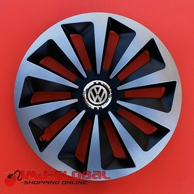 "4 Enjoliveurs 14"" Vw Volkswagen Passat Bora Lupo Golf Up Beetle Foxmix"