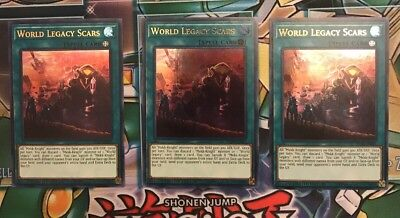 Limited Edition Near Mint EXFO-ENSP1 YuGiOh World Legacy Scars Ultra Rare