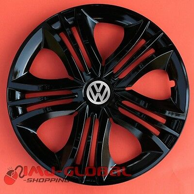 "4 Enjoliveurs 14"" Vw Volkswagen Passat Bora Lupo Golf Up Beetle Funb"