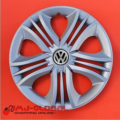 "4 Enjoliveurs 15"" Vw Volkswagen Bora Passat Lupo Golf Fun"