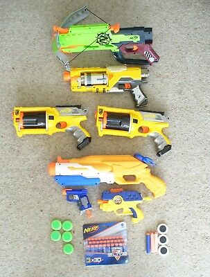 Nerf Gun Bundle With Darts