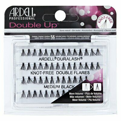 920a14f9e74 Ardell Double Up Knot Free Double Flares Short Black Eyelashes