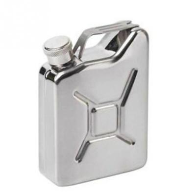 Stainless Steel Alcohol Flask Liquor Whiskey Pocket Flagon Portable Drink Bottle